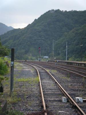 JR予土線江川崎駅