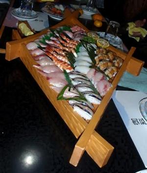 酒菜 日代峰 寿司の盛り合わせ