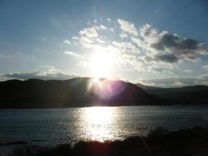 シマントの夕陽