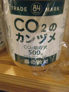 CO2のカンヅメ