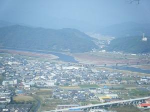 香山寺から四万十川
