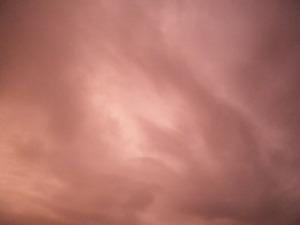 台風明けの空の色