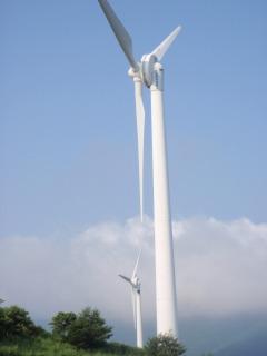 風力発電の羽
