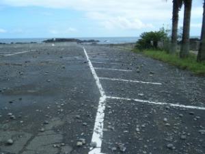 黒潮町浮津 台風の影響