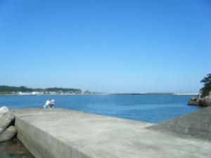 初崎漁港の釣り