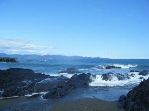 四万十 平野の海
