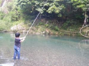 ハヤンボ釣り